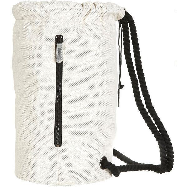 Perforated Duffle Bag ($70) via Polyvore