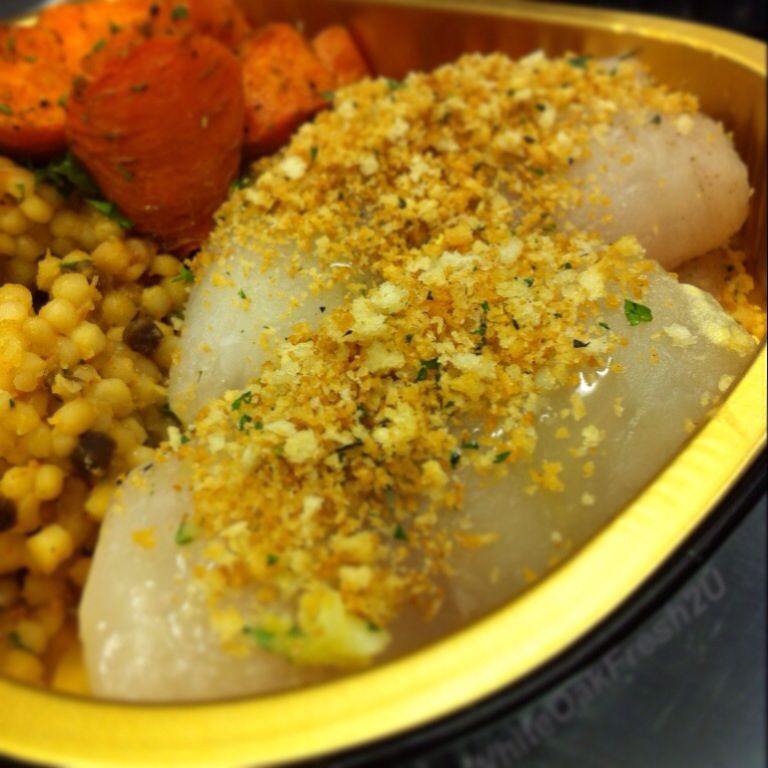 Herbed Baked Sole #Local #Organic #Homemealdelivery