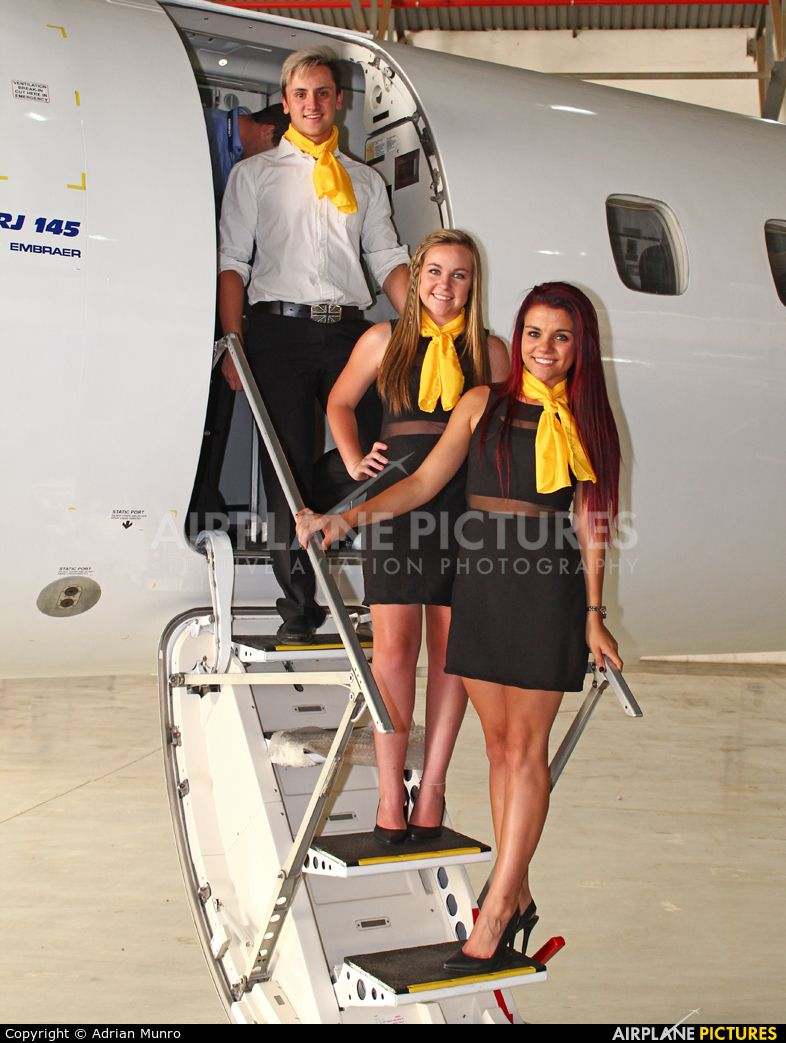 Aviation glamour Cabin crew National Airways Corp
