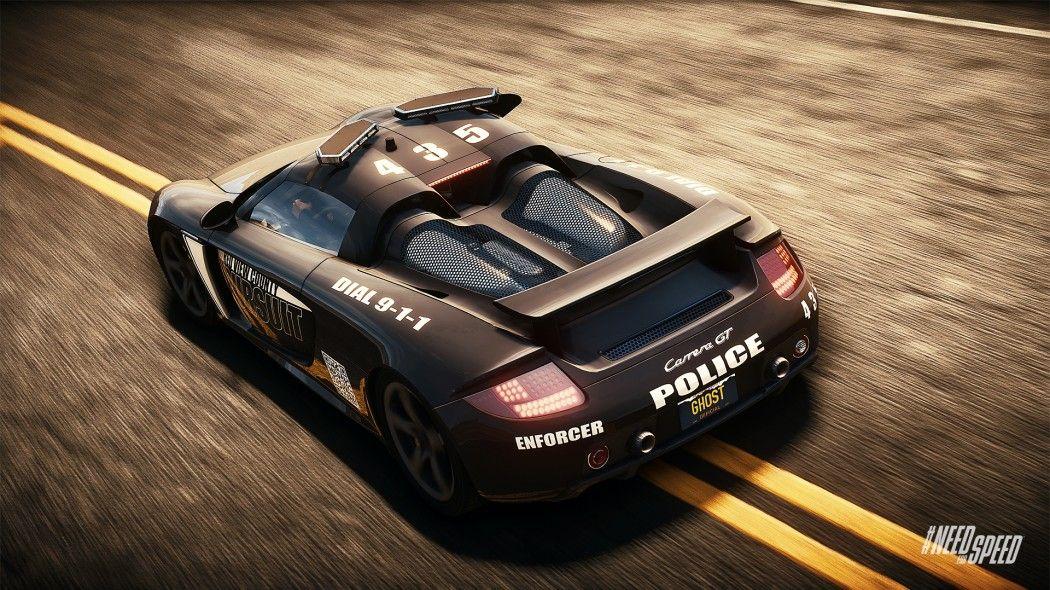 Merveilleux NFS Rivals: Porsche Carrera GT As A Cop