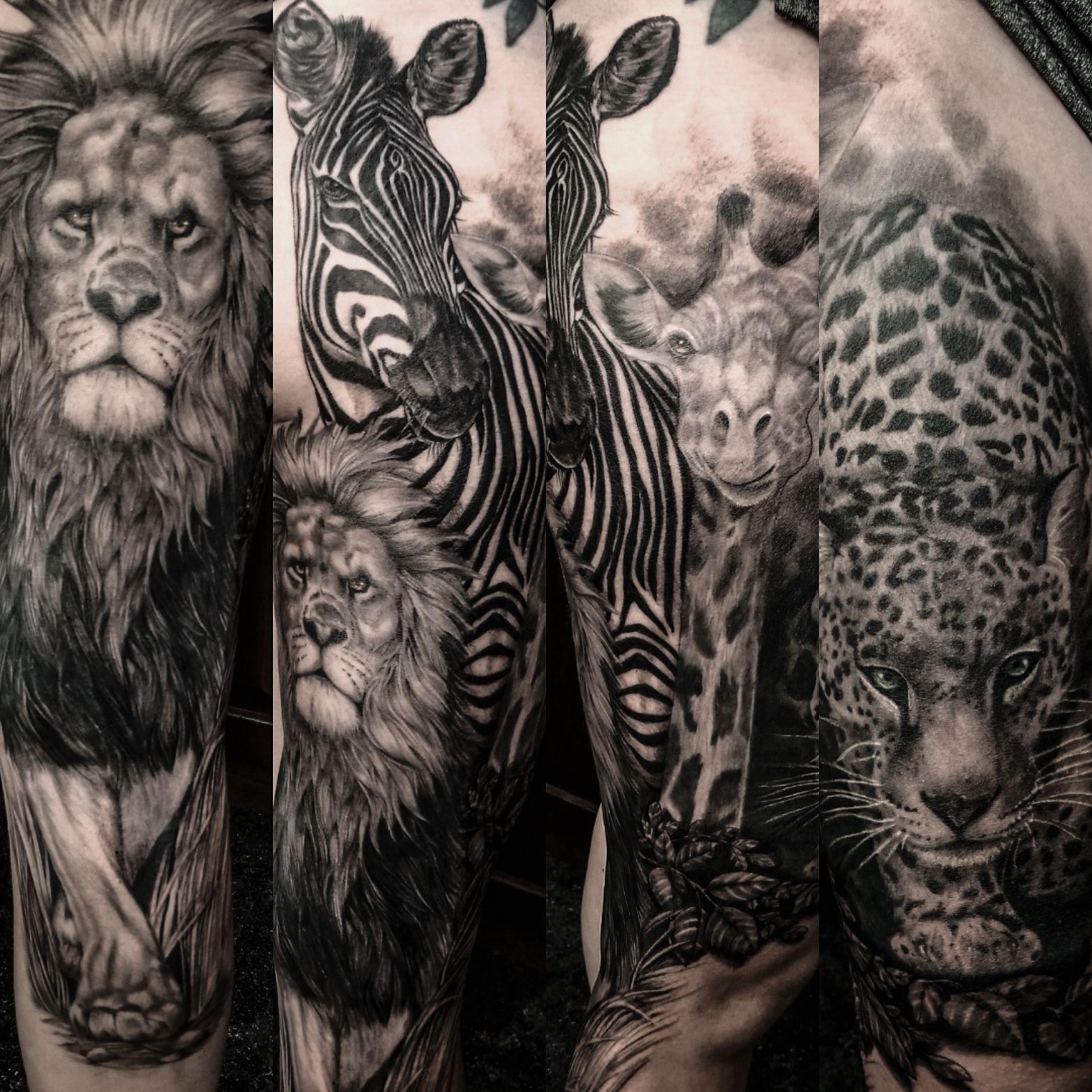 Tattoos For Men Aliens Tattoosformen Leopard Tattoos Animal Sleeve Tattoo Mens Sleeve Tattoo Designs