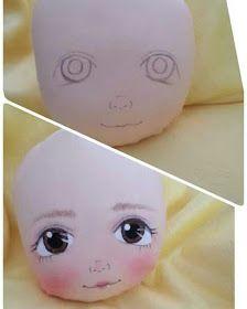 KUFER - artystyczne rękodzieło : Szmacianki - wykroje #dollfacepainting