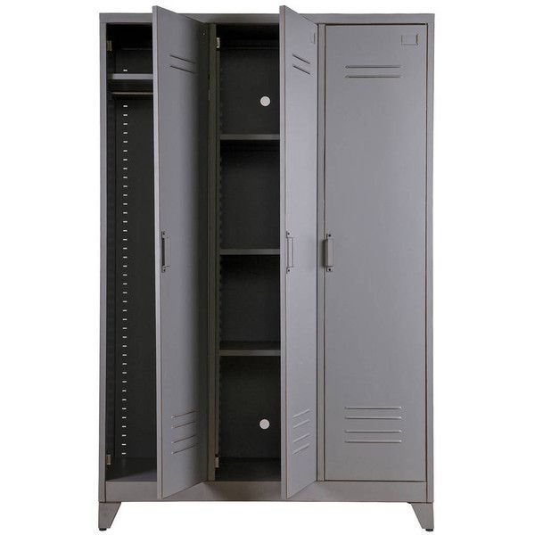 Idyll Home Ltd Metal Locker Cabinet 395 Liked On Polyvore Featuring