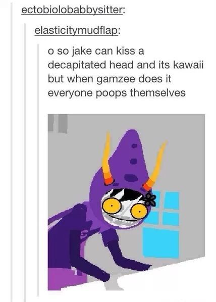 Just think about this post from the point of view of someone who has never read Homestuck...