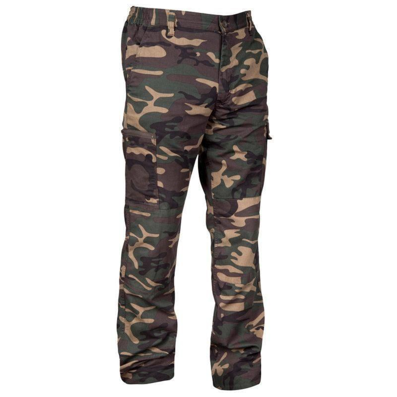 189bc0c8d6d39 Solognac steppe 300 hunting trousers camo island beige   Paintball ...