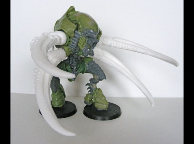 """""""Screamer Killer"""" Carnifex - this shows that much of the model is custom-built not converted."""