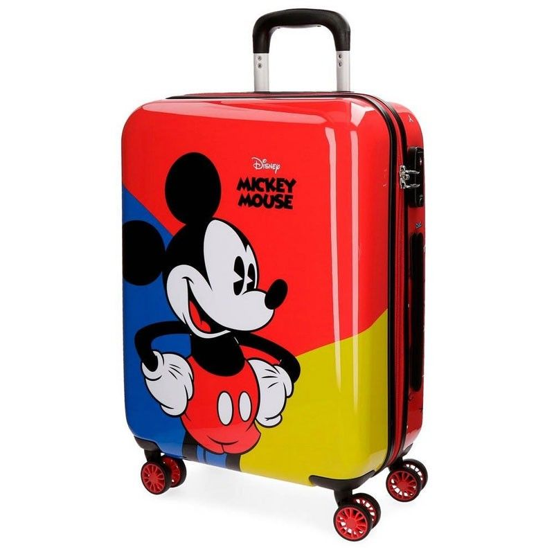 fashion 100% quality uk store Acquista Valigia Trolley Rigida Mickey Mouse Fumetto ...