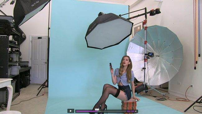 On Phlearn Behind The Scenes Of Newfangled Pinup Shoot
