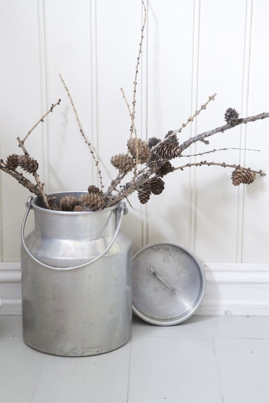 great use for old milk cans