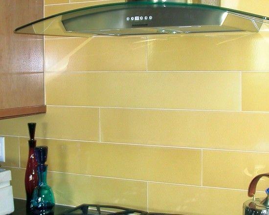 Kitchen backsplash tile · pale yellow subway - Pale Yellow Subway Tile Pinterest Kitchen Backsplash Design