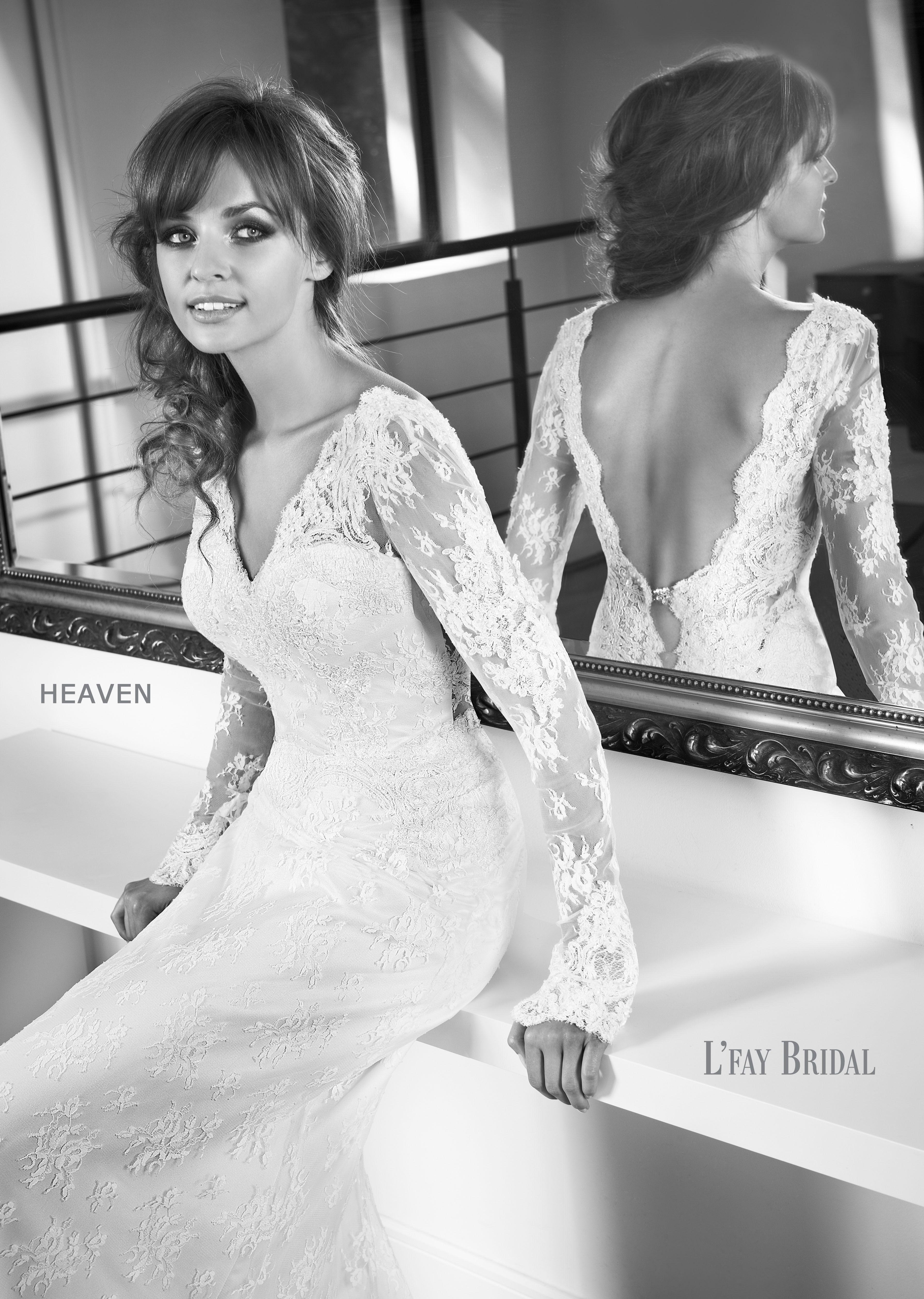 L'Fay Bridal 20   Heaven   Wedding dresses, Sophisticated ...