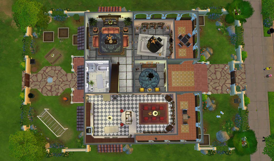 casa martina floor plan first floor | the sims | pinterest | sims