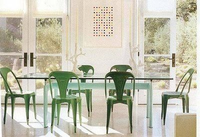 xavier pauchard french industrial dining room furniture. xavier pauchard french industrial dining room furniture. tolix chairs, designed in 1934 by furniture v