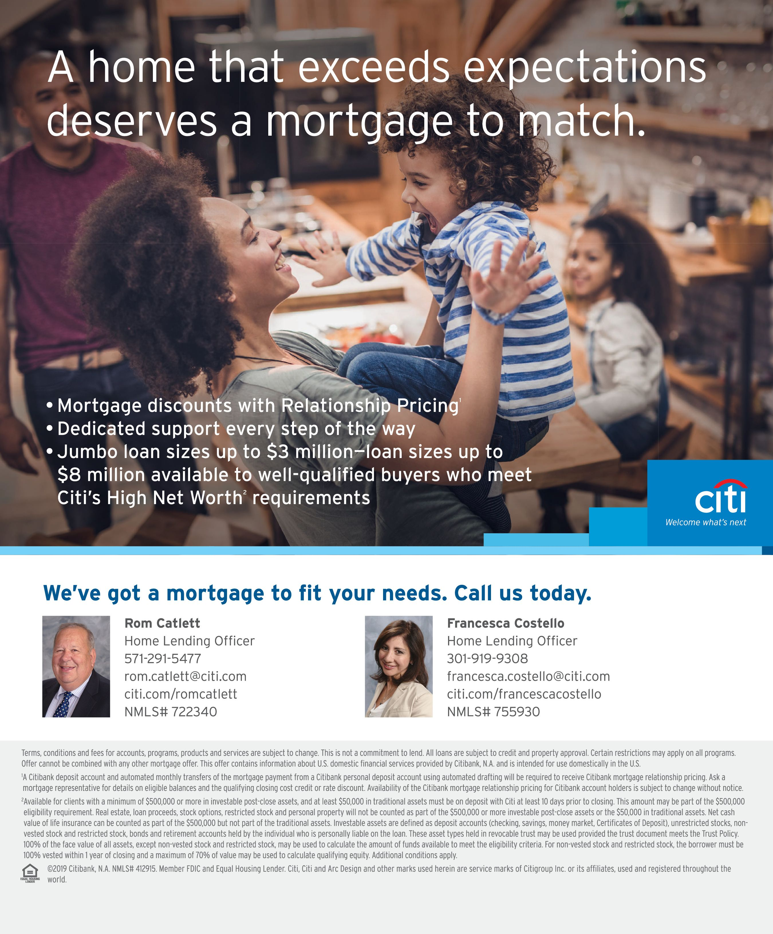 Citi Home Lending Personal Loans Online Banking Mortgage