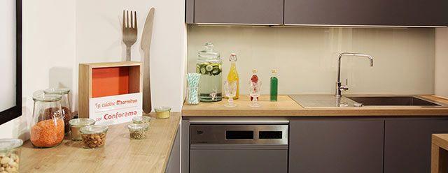 Cuisine Marmiton par Conforama Décoration de cuisines Pinterest