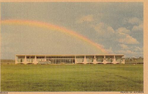 brasilia. palacio da alvorada,oscar niemayer, 1957@ postalesinventadas
