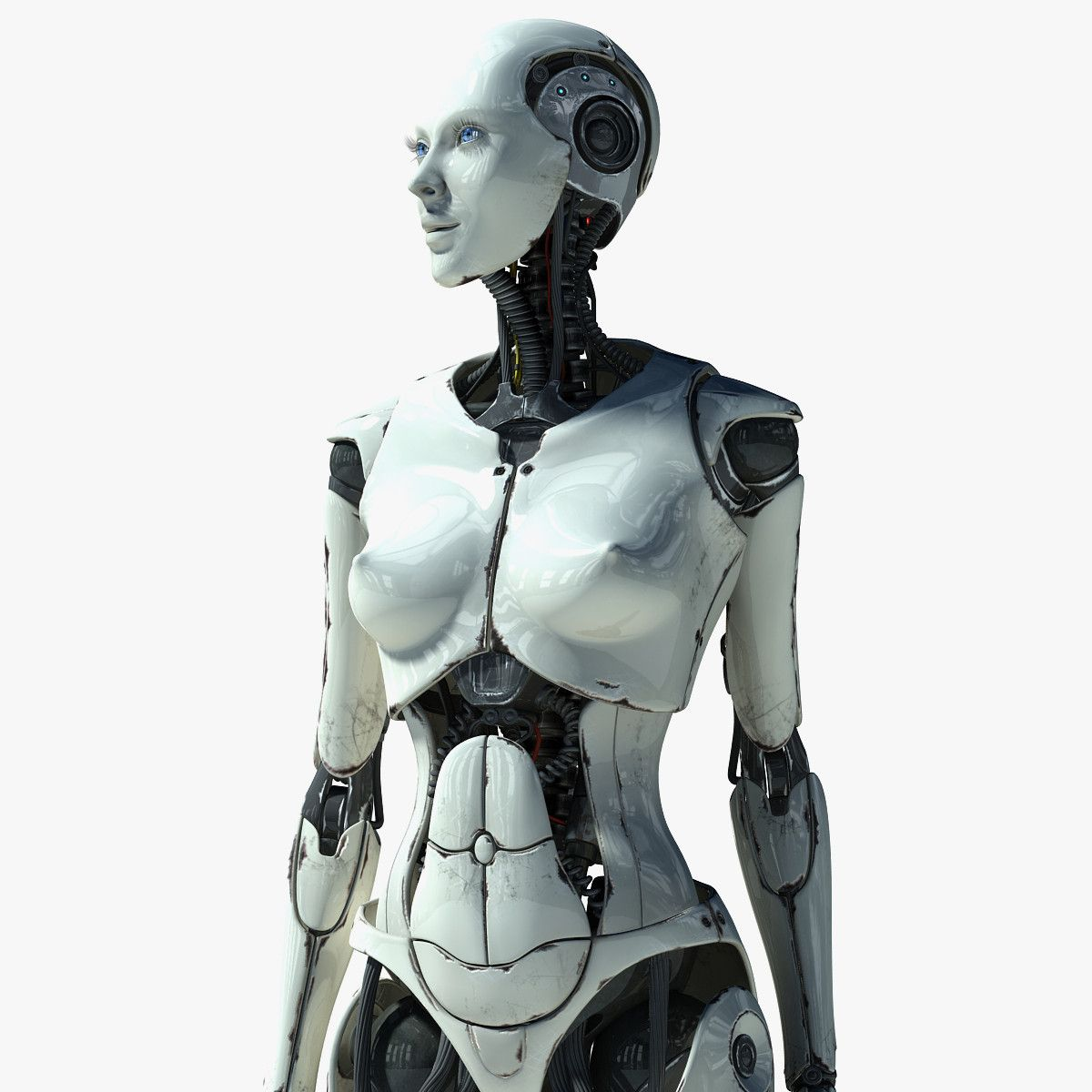 image Human android girl himari seto and ai mizushima