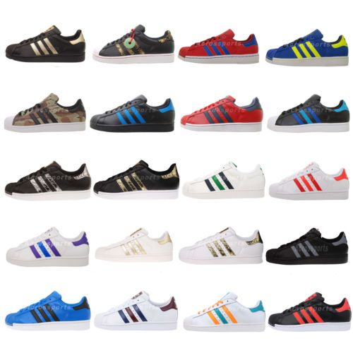 Adidas Originals Superstar II 2 Mens Classic Lifestyle Casual Shoes SS Pick  1 e52edc6ec