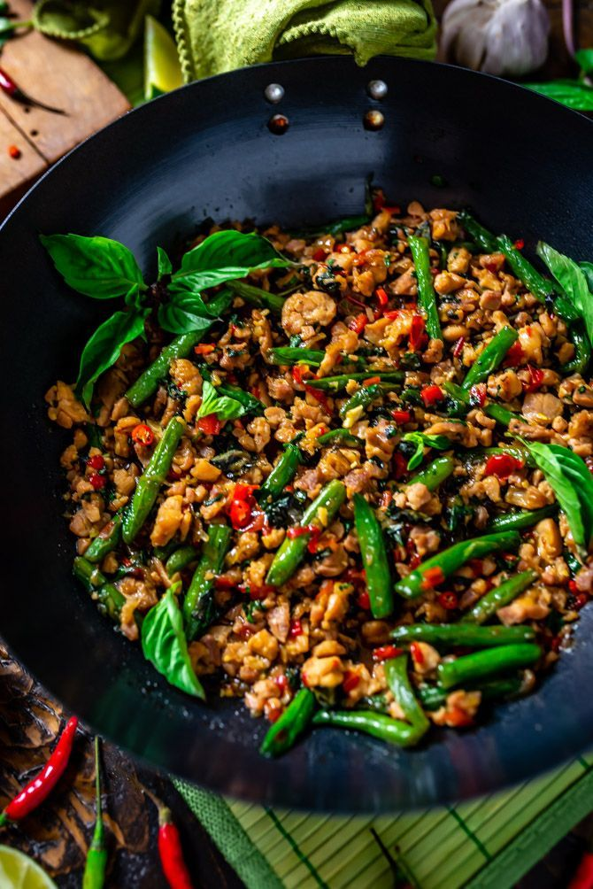 Photo of 15 Minute Thai Basil Chicken – Host The Toast