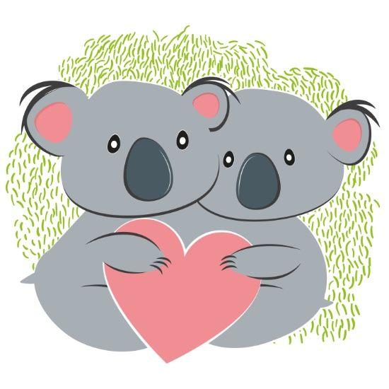Koalas Lara Fotografica Koala Bebe Ilustraciones De Animales Y Imagenes De Abrazos
