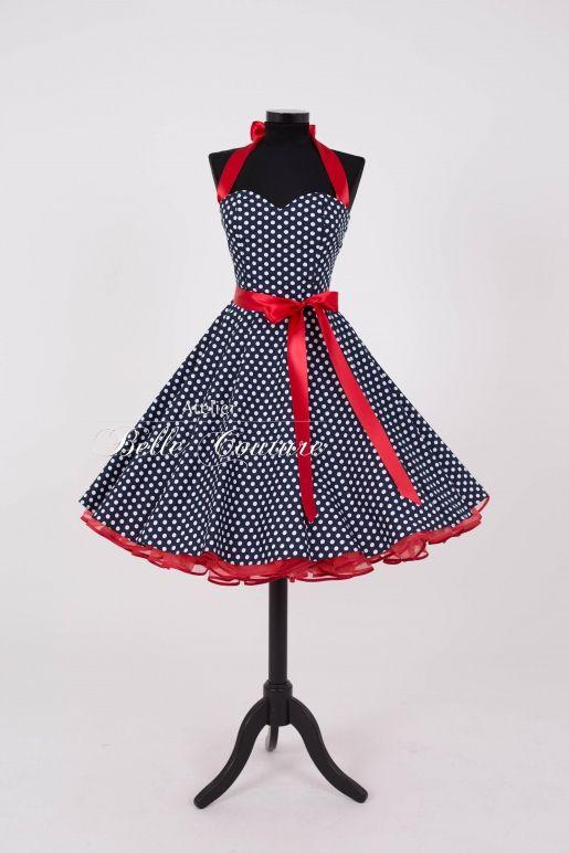 Atelier Belle Couture | 50´s Petticoat Kleid | Kleider ...