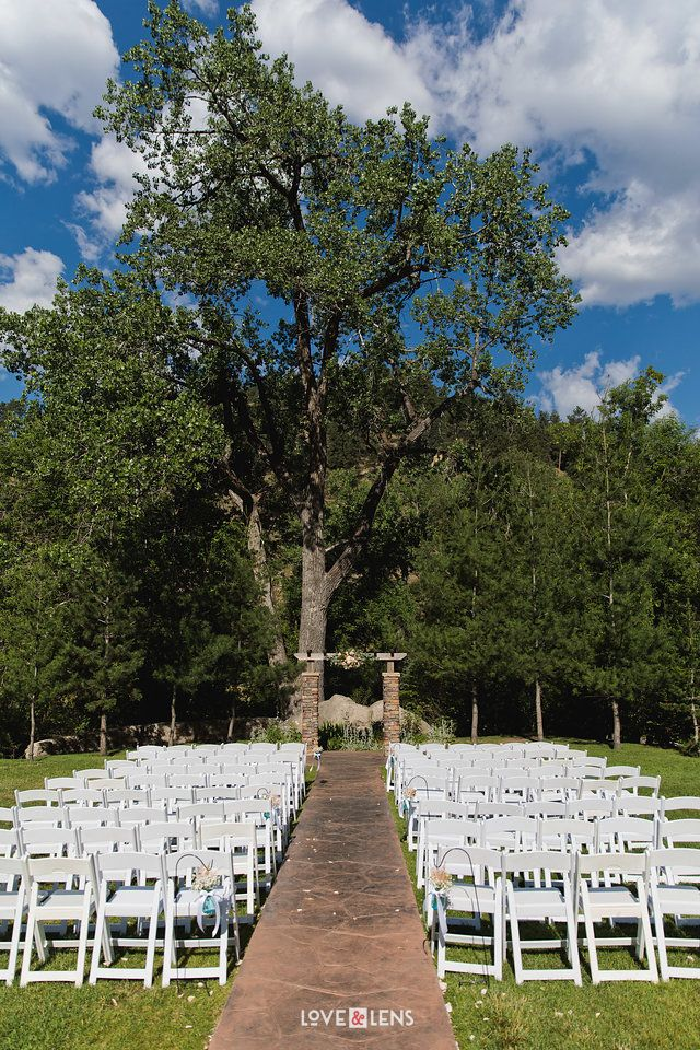 Wedgewood Weddings Boulder Creek Colorado Wedding Venue Ceremony Reception