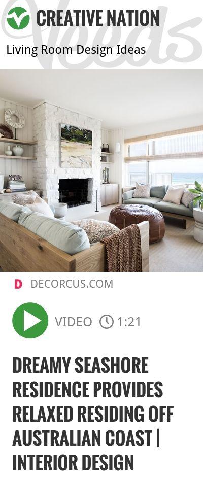 Dreamy Seashore Residence Provides Relaxed Residing Off Australian Coast | Interior Design | http://veeds.com/i/zm5yOwcS4r83DsdZ/creativenation/