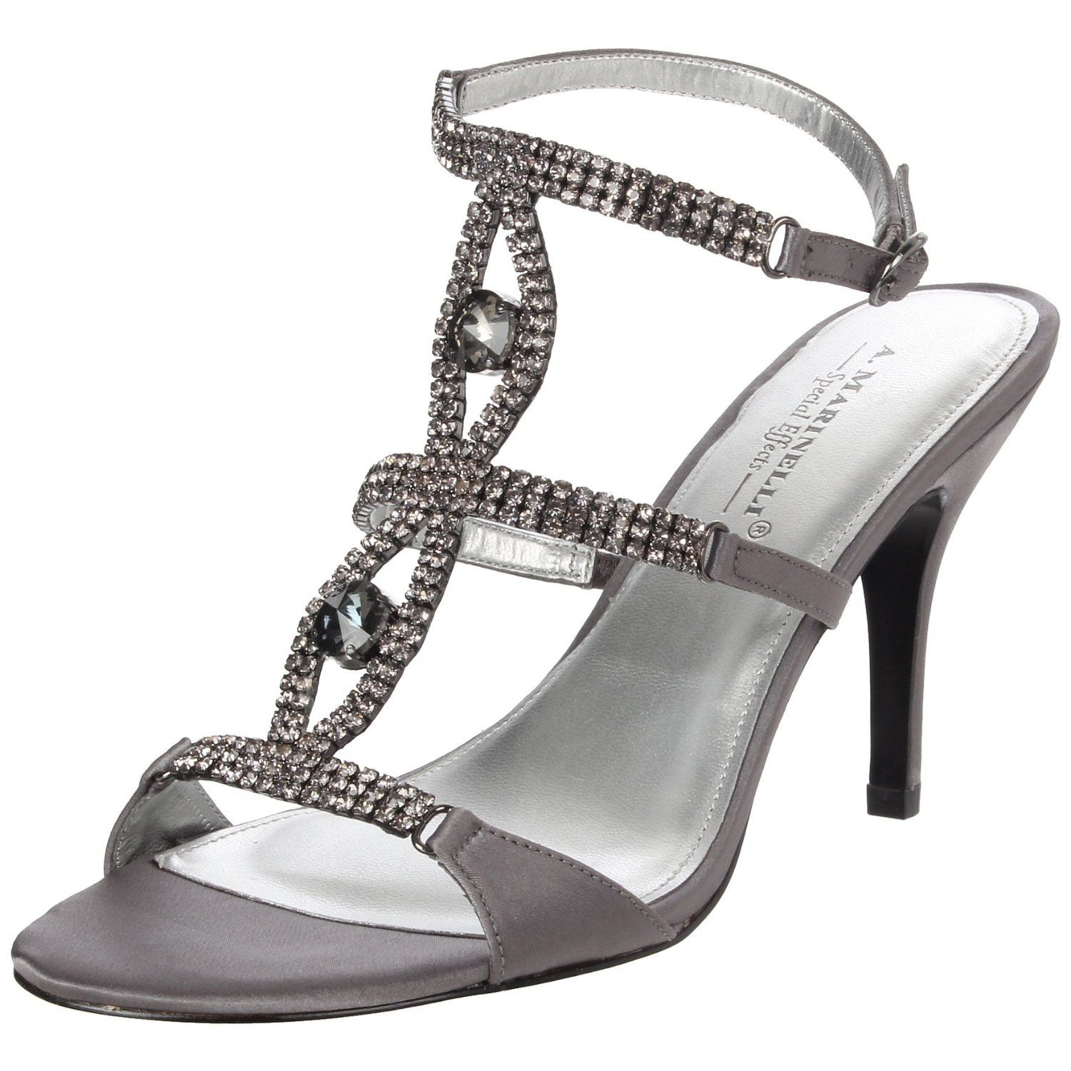 Pewter Heels For Wedding: Pewter Shoes, Sandals