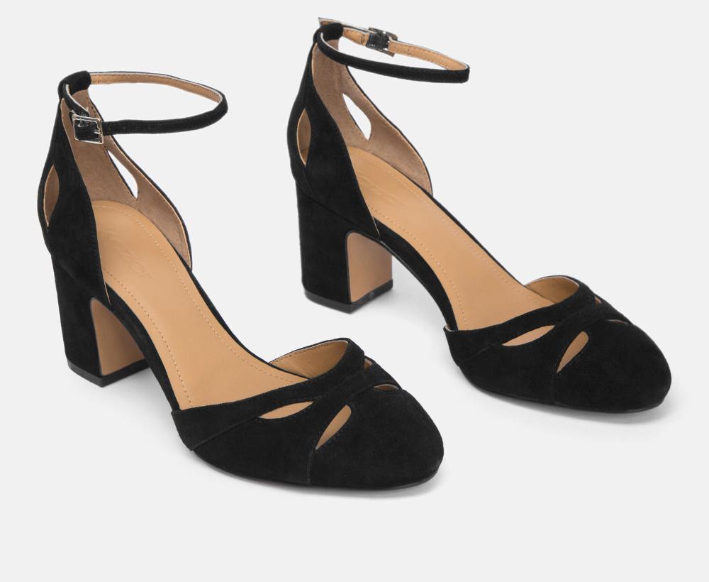 38468 02 00 Kazar Heels Shoes Peep Toe