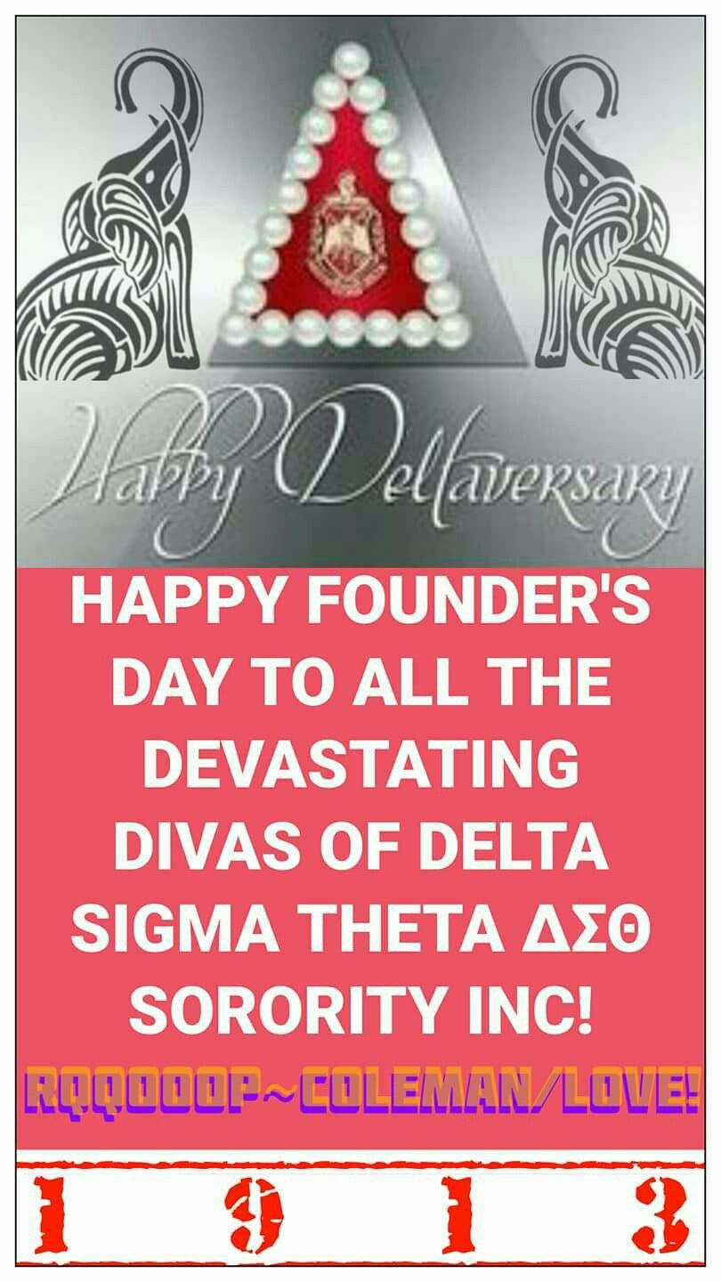 Dst Founders Day Happy Founders Day Delta Sigma Theta Founders Day