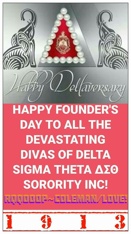 Dst Founders Day Delta Sigma Theta Pinterest Delta Sigma Theta