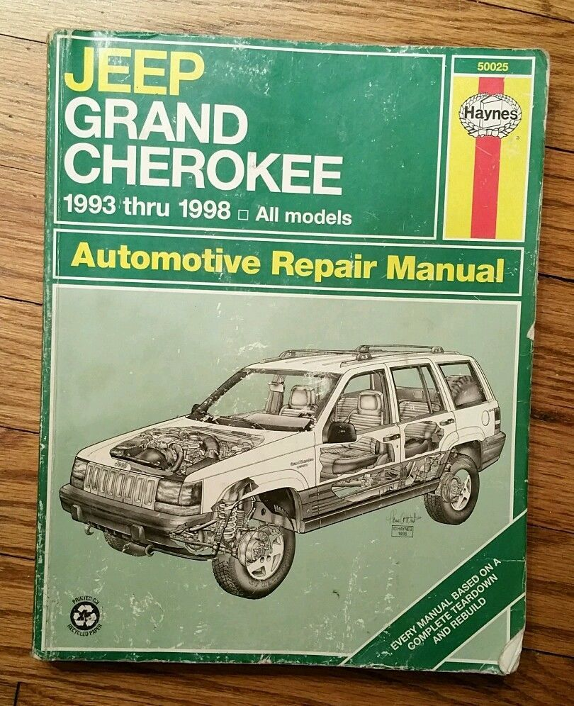 1993 1998 jeep grand cherokee haynes automotive repair manual rh pinterest com haynes repair manual 2002 jeep grand cherokee haynes repair manual 2011 jeep grand cherokee