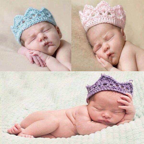 Coroa croche | Baby crochet | Pinterest
