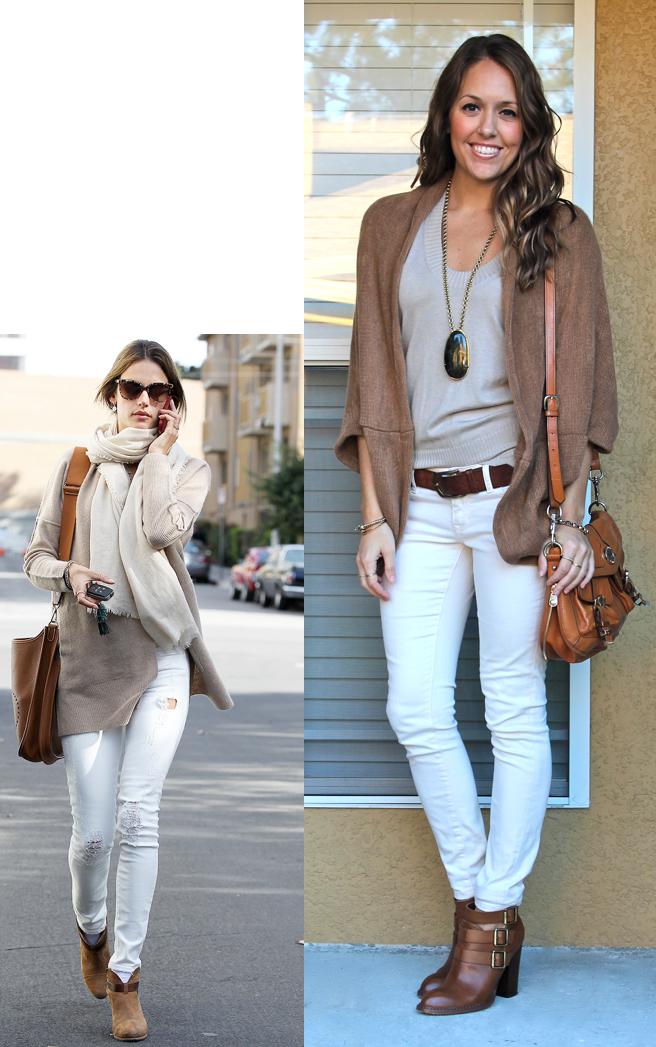 Qué zapatos combinar un pantalón blanco | Combinar pantalon