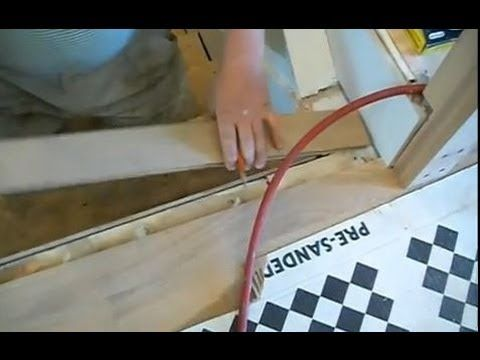Best Installing Hardwood On Stairs How To Install The First Stair Nosing Youtube Crafts Diy 400 x 300