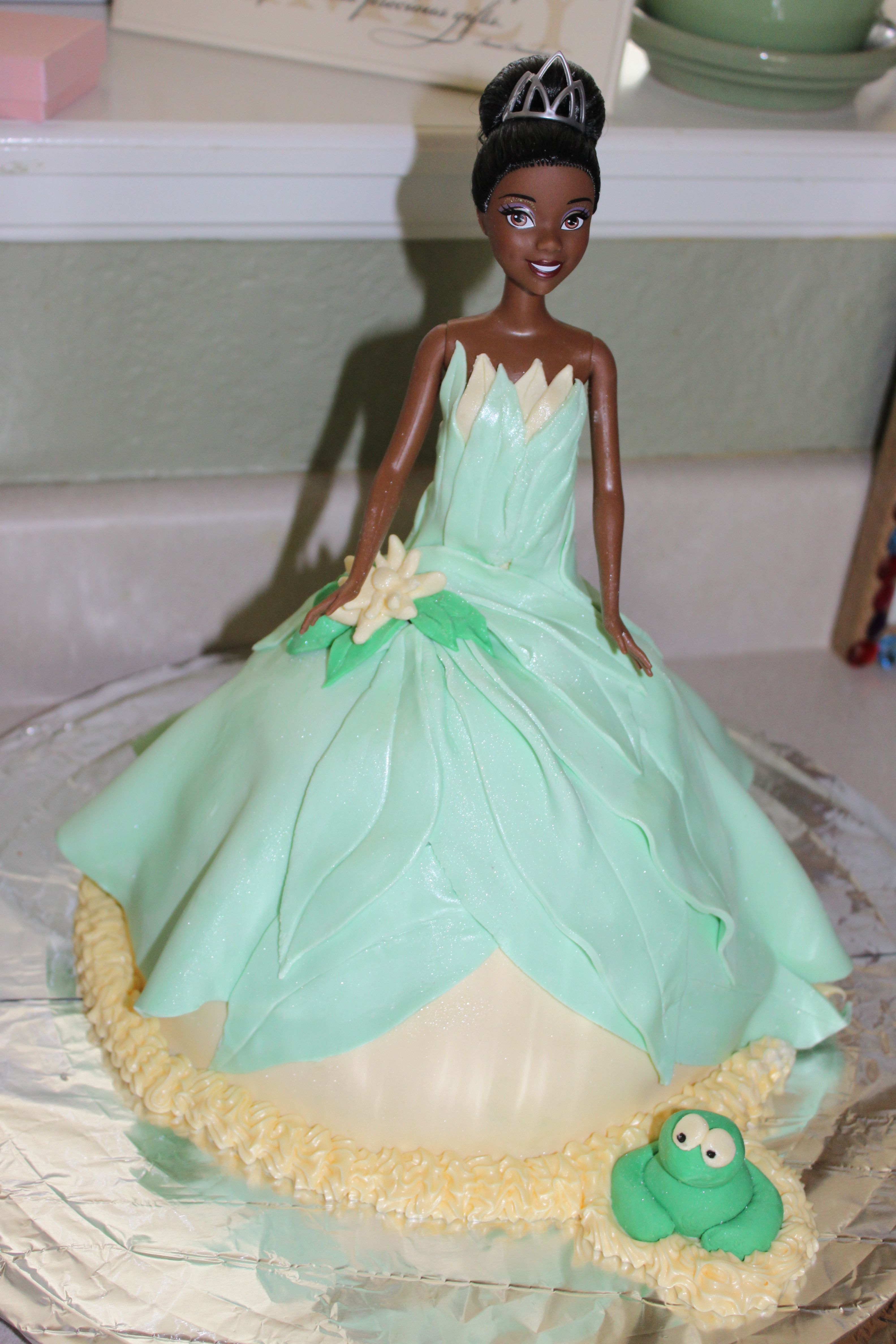 Princess And The Frog Tiana Birthday Cake Its All Abigail