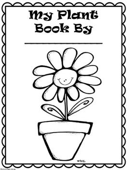 All About Plants Plant Parts And Life Cycle Coloring Pages