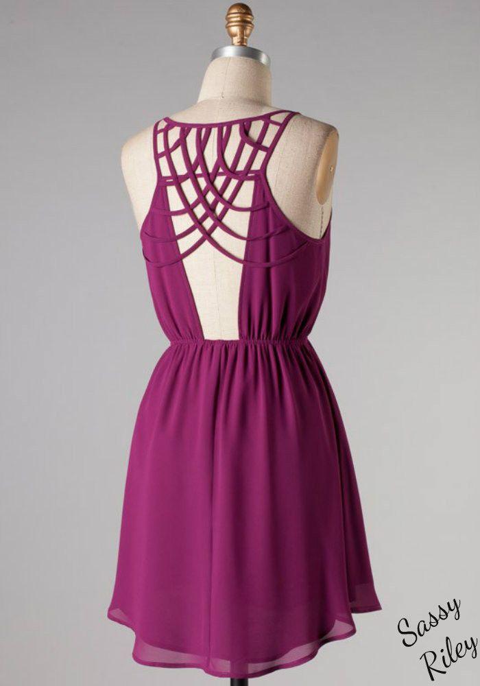 Elegant as Ever Dress -- Magenta | Moda femenina, Femenino y Me encantas