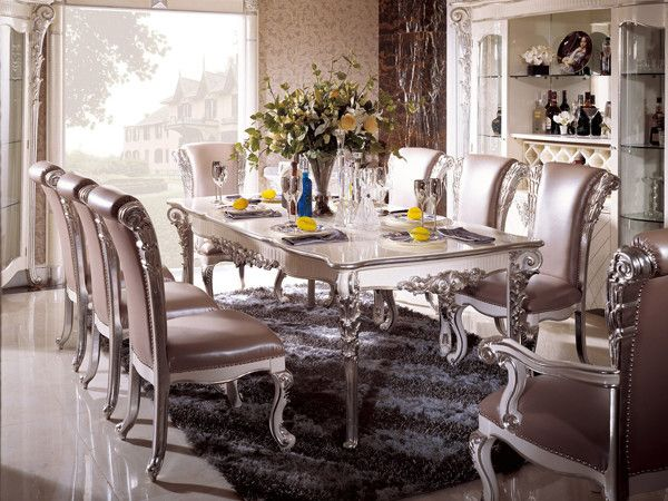 Silver Dining Room In Italian Style Top And Best Italian Classic