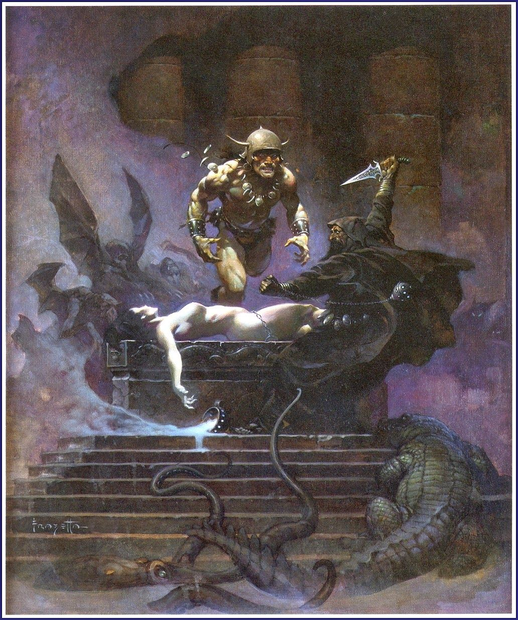 The Golden Age: FRANK FRAZETTA ~ The Conan Paintings ...