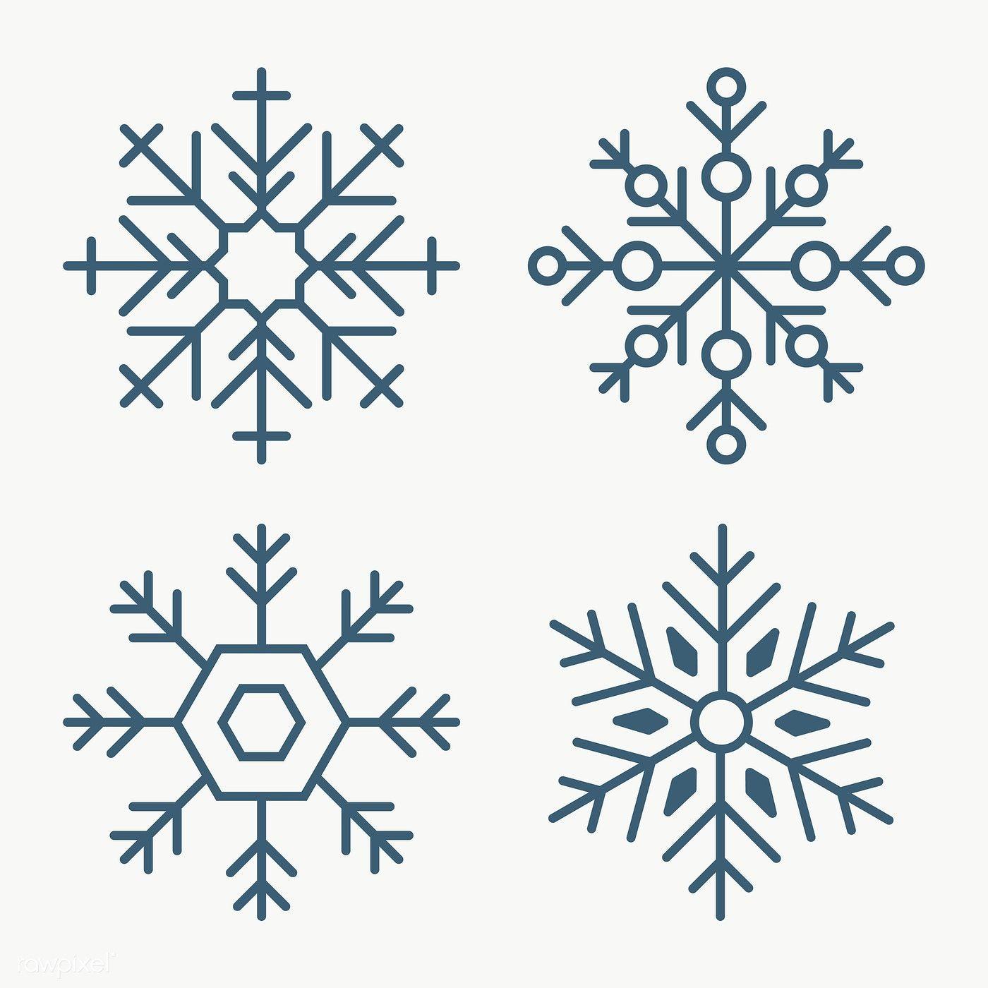 Christmas Snowflake Social Ads Template Set Transparent Png Premium Image By Rawpixel Com Sasi Christmas Snowflakes Snowflake Template Snowflakes