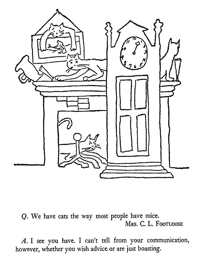 Yesterdaysprint The Owl In The Attic And Other Perplexities James Thurber 1931 Attic In 2020 James Thurber Owl James