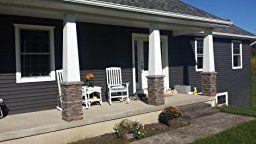 Faux Stone Column Wraps With Easy Install Kit Pole Wrap Post