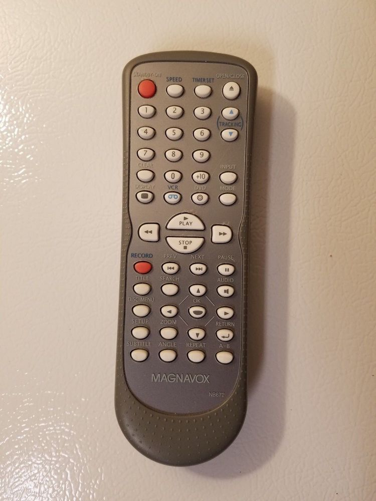 Details about NEW MAGNAVOX SYLVANIA REMOTE NB672UD DV225MG9A