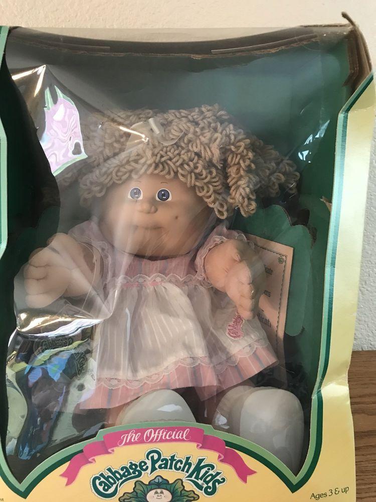 Vintage 1986 Girl Cabbage Patch Kid Cabbagepatchkids Easy Cabbage Rolls Cabbage Patch Dolls Cabbage Patch Kids