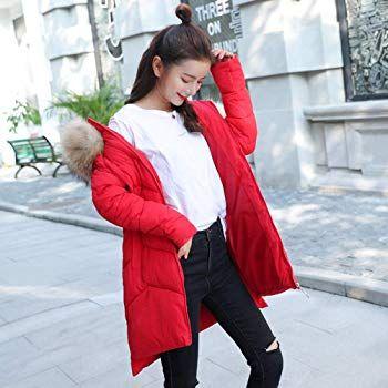 online retailer 4853b 89bd6 Homebaby Cappotto Piumino Cotone Imbottito Cappuccio Donna ...