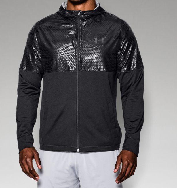 Men's UA Embossed Lightweight Warm-Up Jacket | Emboss