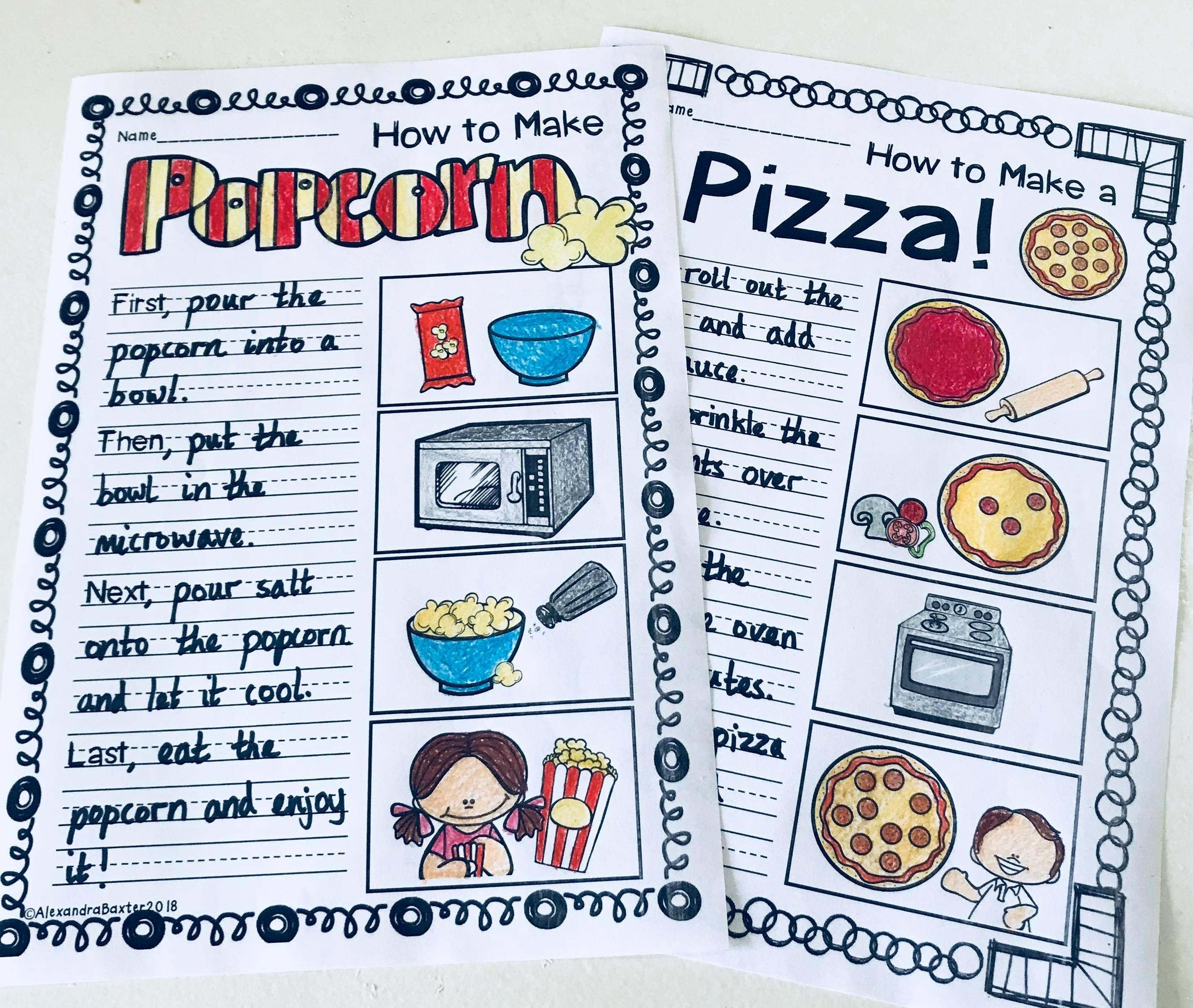 Procedure Writing Worksheets Terrific Teaching Tactics Procedural Writing Kindergarten Opinion Writing Prompts Writing Worksheets [ 2399 x 2838 Pixel ]
