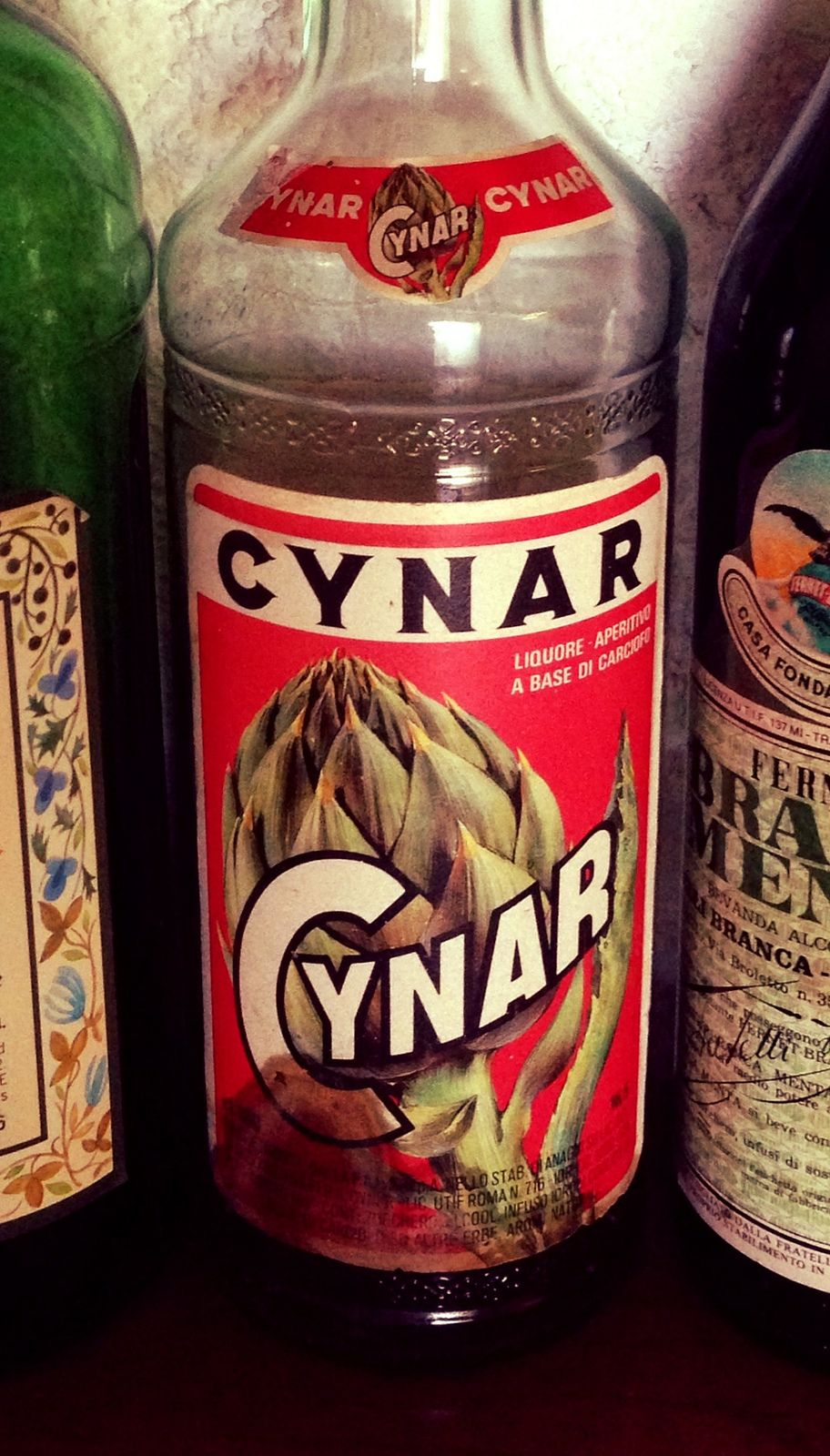 Cynar Root Beer Beer Can Liquor
