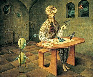 Creation of the birds by Remedios Varo